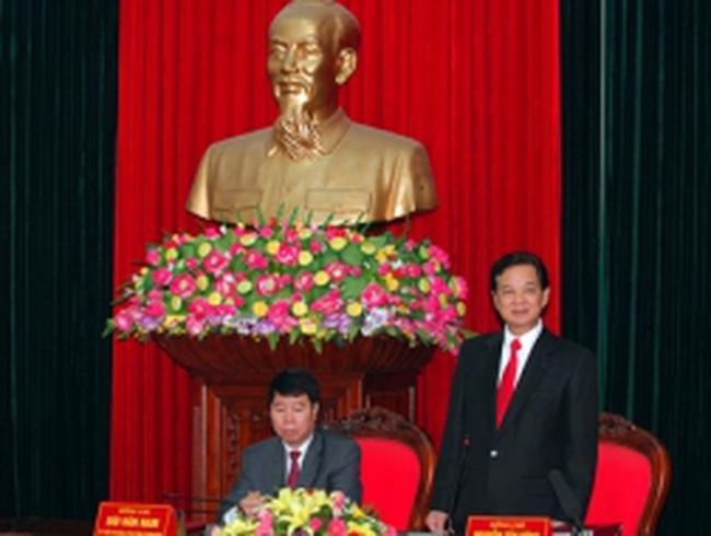 Thủ tướng làm việc tại Ninh Bình