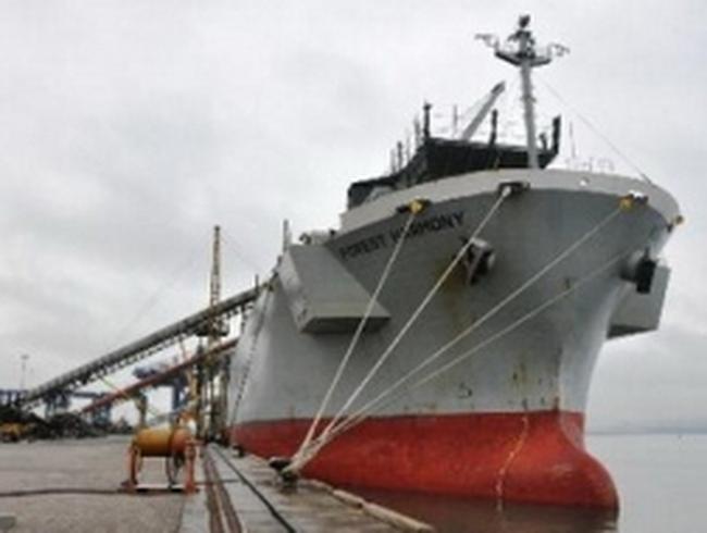 """Quảng Ninh: Đón hai tàu hàng """"xông"""" Cảng Cái Lân"""