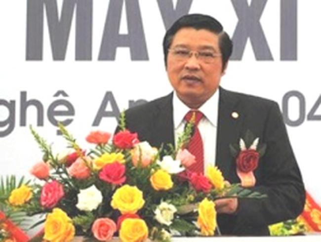 Ông Phan Đình Trạc thôi giữ chức Bí thư Tỉnh ủy Nghệ An