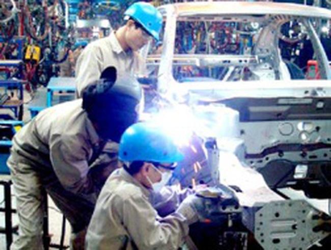Chỉ số sản xuất công nghiệp tháng Tết giảm 21,3%