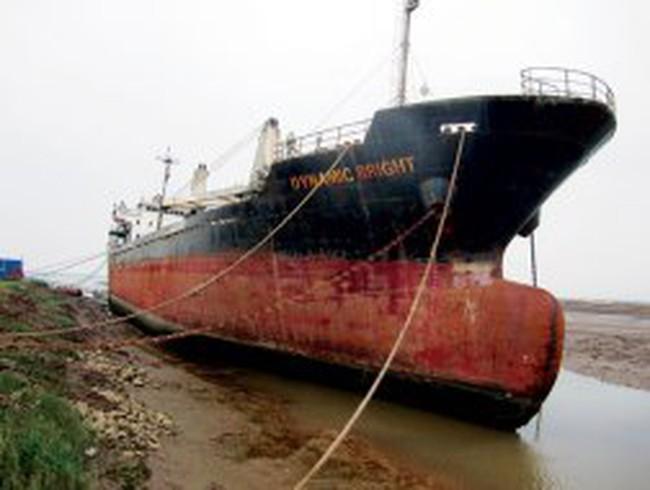 Tàu biển: Đến ve chai cũng lắc đầu