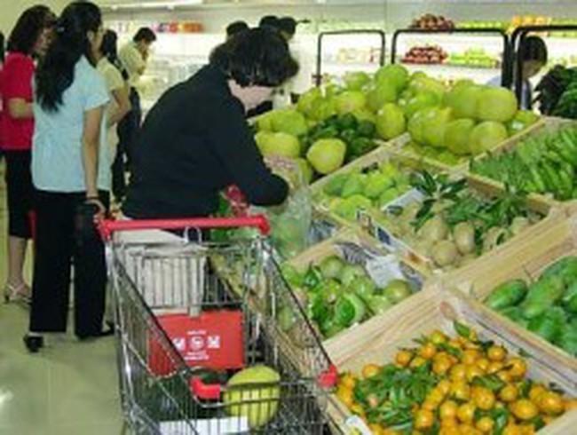 Chỉ số giá tiêu dùng quý I tăng ở mức 2,39% so với tháng 12/2012