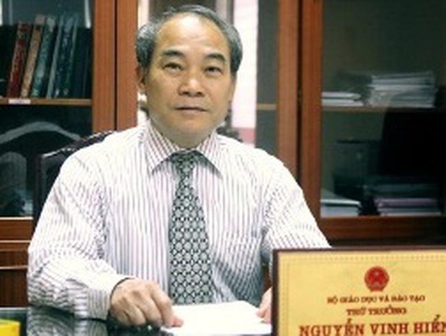 Bổ nhiệm lại một Thứ trưởng Bộ Giáo dục và Đào tạo