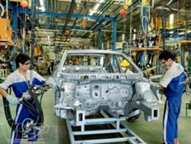 Trụ cột công nghiệp suy yếu