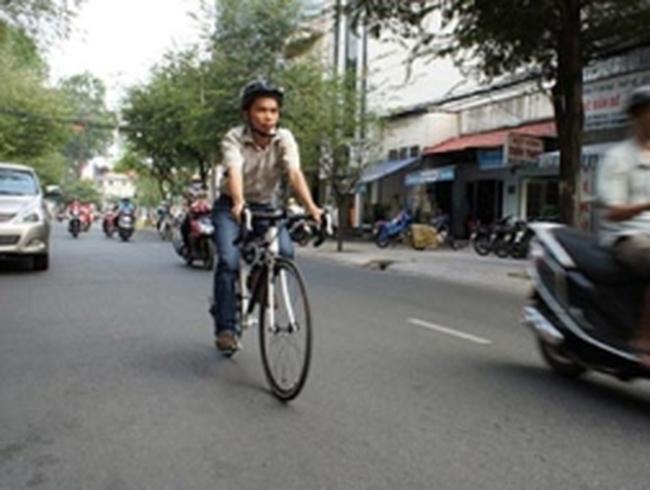 900 triệu có giảm được ùn tắc Thủ đô bằng xe đạp?
