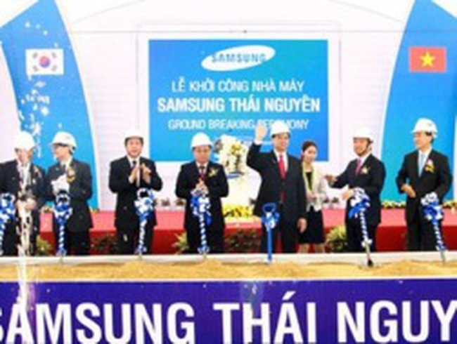 Chuyện ưu đãi Samsung lên bàn họp Thái Nguyên