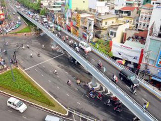 TPHCM: Khánh thành cầu vượt thép Lăng Cha Cả