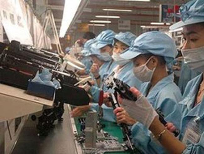 Chỉ số sản xuất công nghiệp tăng 5%, tồn kho ở mức cao