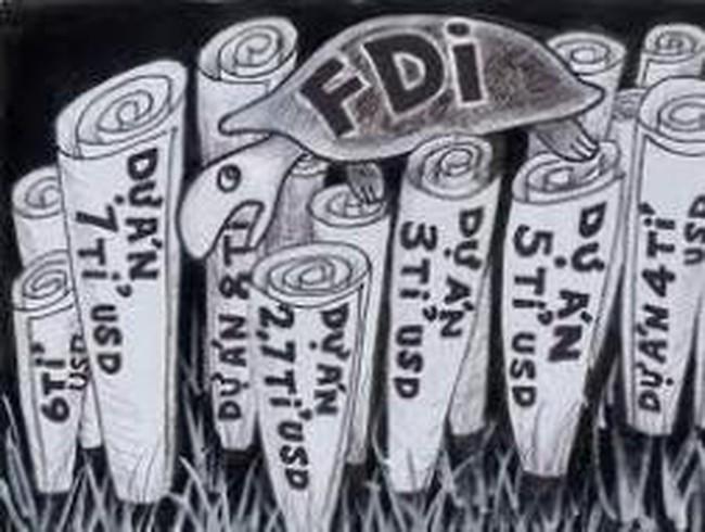 Xử lý các dự án FDI