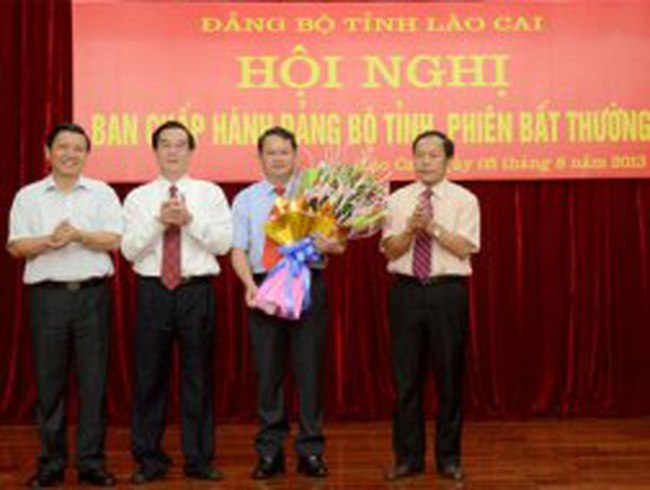 Lào Cai có Bí thư Tỉnh ủy mới