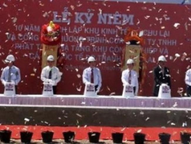 Khởi công dự án xây dựng cảng quốc tế Dr. Thanh