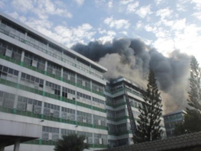 Cháy lớn tại công ty TNHH Pou Yuen, TP.HCM