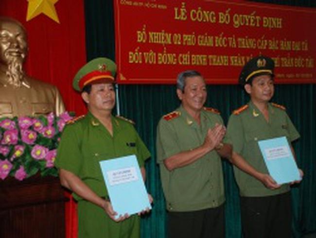 Bổ nhiệm hai phó giám đốc Công an TPHCM