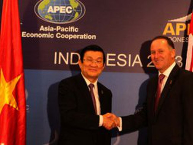Chủ tịch nước gặp nguyên thủ, Lãnh đạo các thành viên APEC