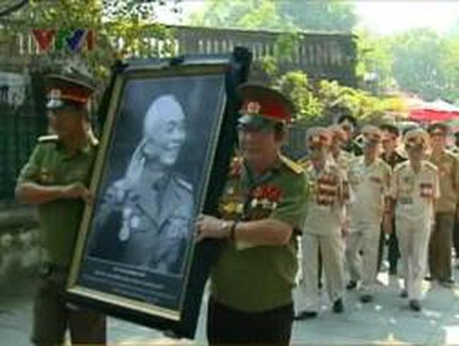 Các chiến sĩ Trung đoàn Thủ đô nhớ về Đại tướng