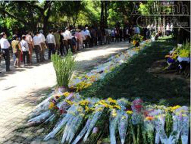 Lễ vật đặc biệt kính dâng lên Đại tướng Võ Nguyên Giáp