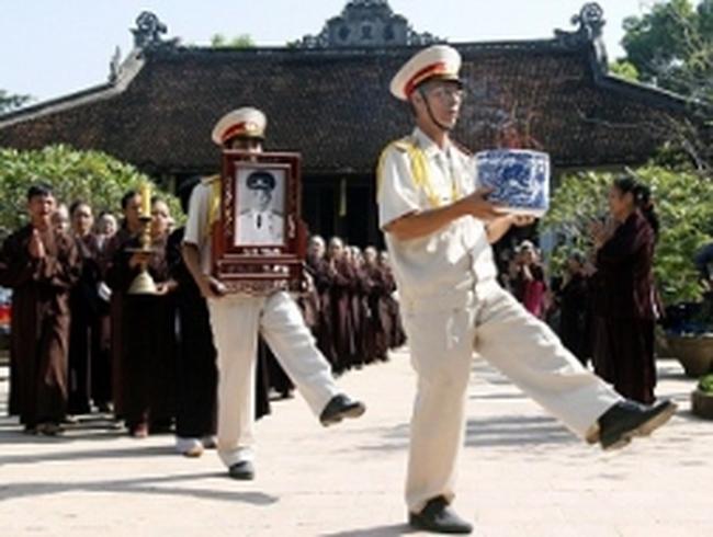 Cả nước chính thức để tang Đại tướng Võ Nguyên Giáp