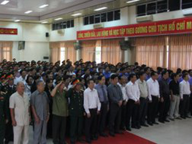 Lễ truy điệu Đại tướng Võ Nguyên Giáp tại ĐBSCL