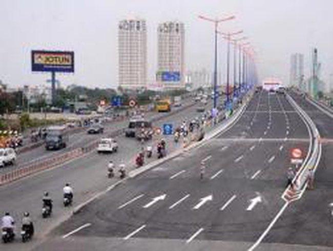 Ngắm cầu Sài Gòn 2 trước giờ chính thức khánh thành