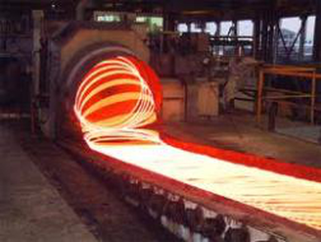 Nhà máy thép hơn 1 tỉ USD hoạt động