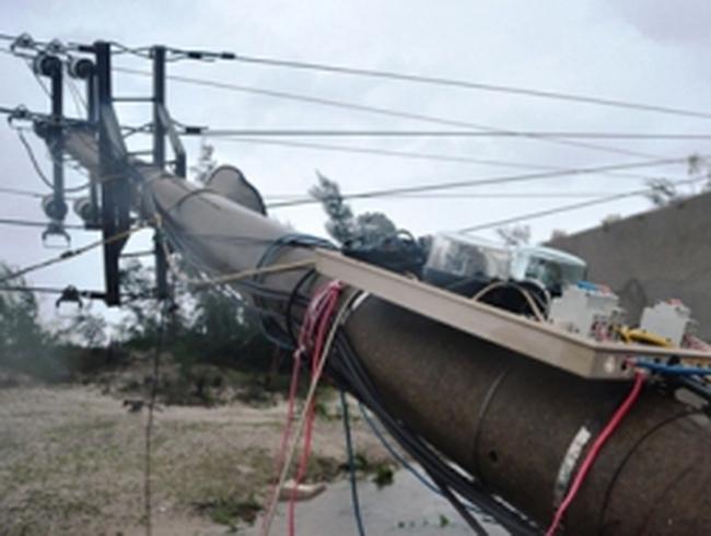 10 nhà máy điện ngừng hoạt động vì bão số 11