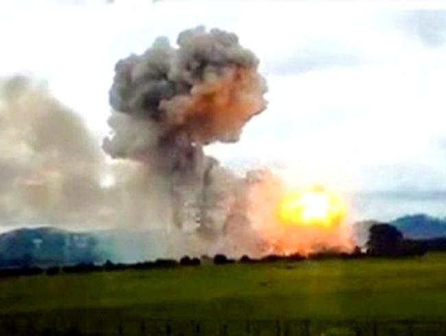 Nổ kho pháo hoa kinh hoàng ở Phú Thọ do...nước mưa?