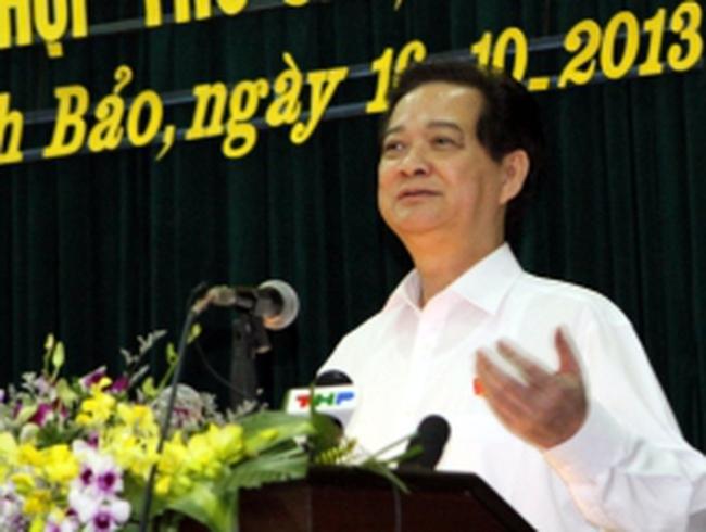 """Thủ tướng Nguyễn Tấn Dũng: Tiêu cực ở Vinalines là """"ung nhọt phải cắt bỏ"""""""