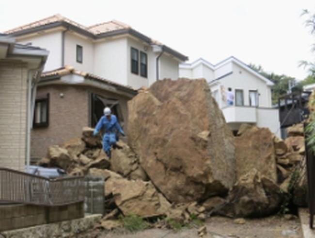 Siêu bão Wipha tàn phá Tokyo