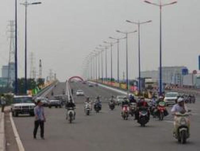Cầu Sài Gòn 2 xây xong trước kế hoạch