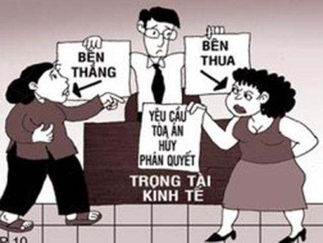 """Việt Nam """"siêu vô địch"""" về hủy phán quyết trọng tài thương mại"""