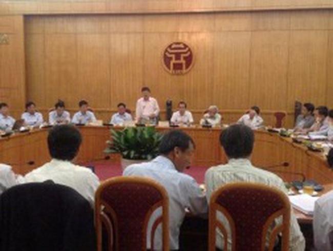 Thanh tra UBND TP Hà Nội về phòng chống tham nhũng