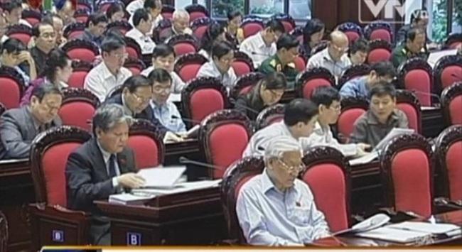 Quốc hội nghe báo cáo về công tác phòng chống tội phạm
