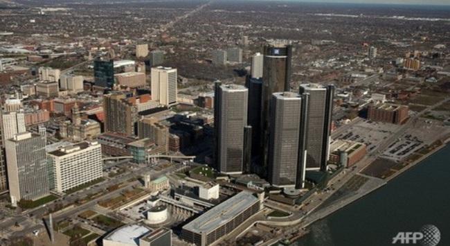 Tranh cãi quanh việc Detroit xin phá sản