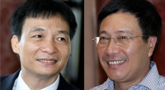 Hình ảnh 2 ứng viên Phó Thủ tướng
