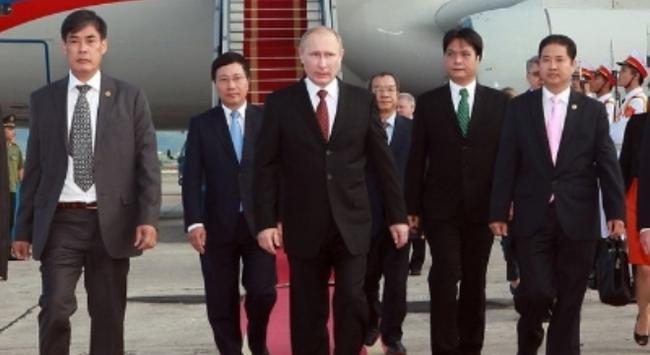 Tổng thống Putin đến Hà Nội
