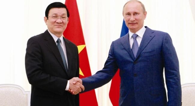 Những bước tiến trong quan hệ Việt - Nga