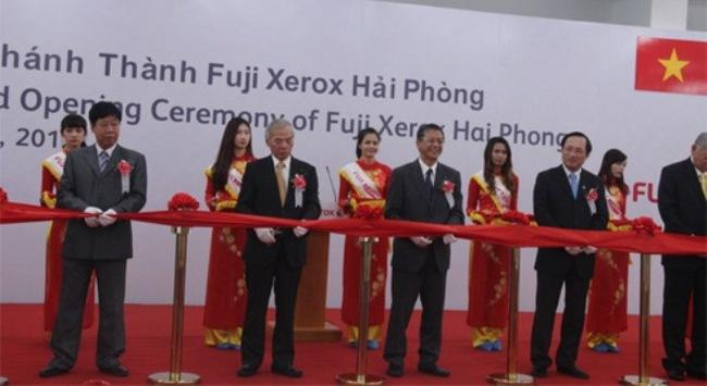 Fuji Xerox khánh thành nhà máy tại Hải Phòng