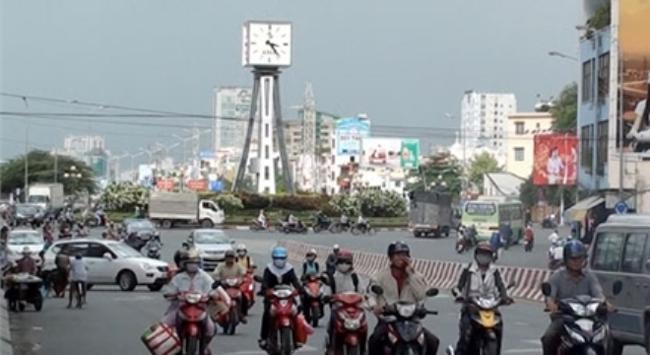 Cận cảnh đường Võ Nguyên Giáp ở TP.HCM