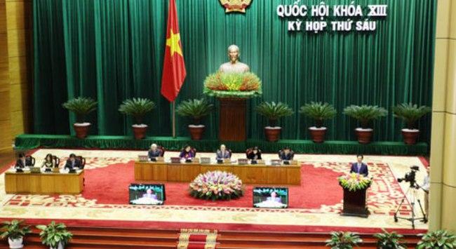 Quốc hội trước phiên bấm nút lịch sử