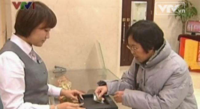 Cuối năm, người Trung Quốc đổ xô mua vàng