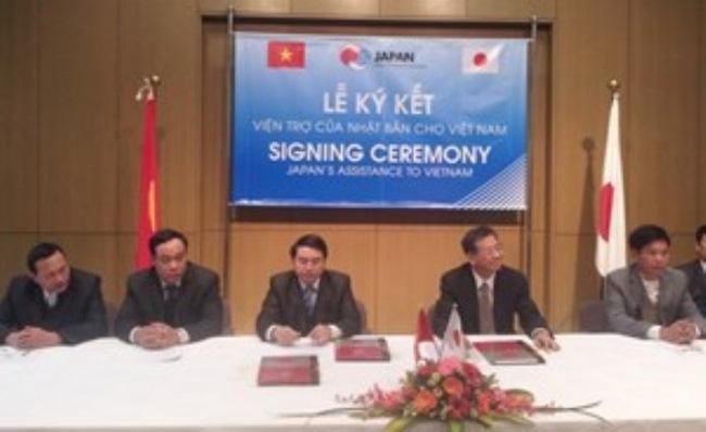 Nhật viện trợ gần 1 triệu USD cho 7 dự án ở Việt Nam