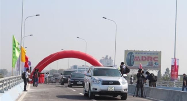 Thông xe cầu vượt thép đầu tiên ở Đồng Nai