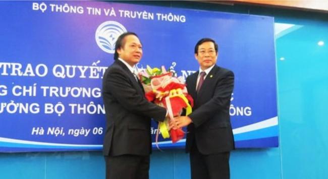 Công bố quyết định bổ nhiệm Thứ trưởng Bộ TT&TT Trương Minh Tuấn