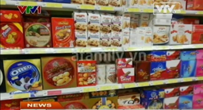 Ngành bánh kẹo tăng doanh thu nhờ Tết