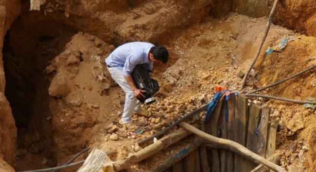 Nạn khai thác vàng trái phép tại Quảng Nam