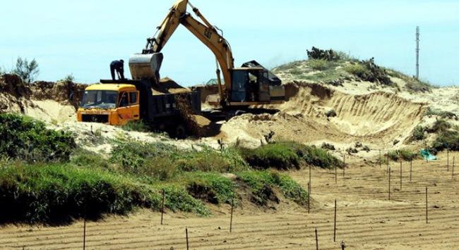 Tình trạng khai thác cát trái phép sau khi các lực lượng chức năng ra quân