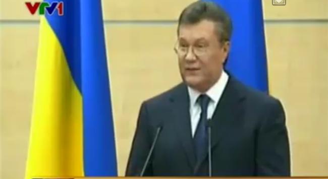 Ông Yanukovich khẳng định vẫn là lãnh đạo Ukraine