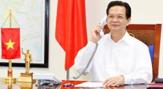 Thủ tướng trao đổi điện thoại với Chánh Văn phòng Nhà Trắng