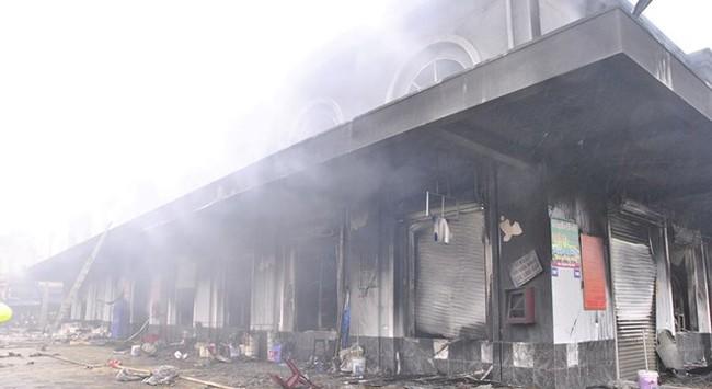 Vụ cháy chợ Phố Hiến: Dấu hỏi về hoạt động chữa cháy