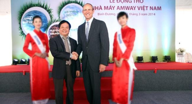 Amway đầu tư thêm 25 triệu USD vào thị trường Việt Nam